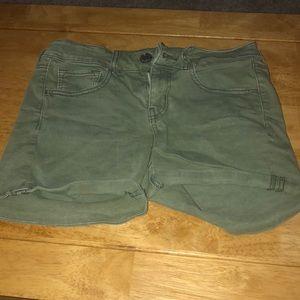 American Eagle Midi Shorts!